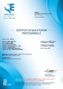 Qualification Qualifelec MGTI.3